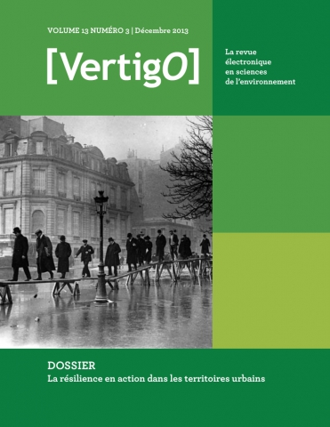 VertigO - la revue électronique en sciences de l'environnement (The Electronic Journal in Environmental Sciences)